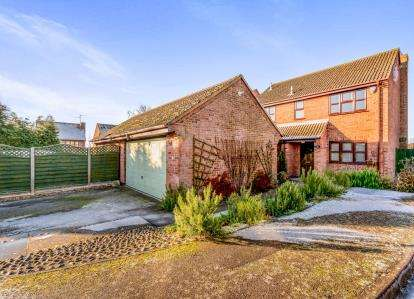 4 Bedrooms Detached House for sale in Cambridge Street, Wymington, Rushden, Bedfordshire
