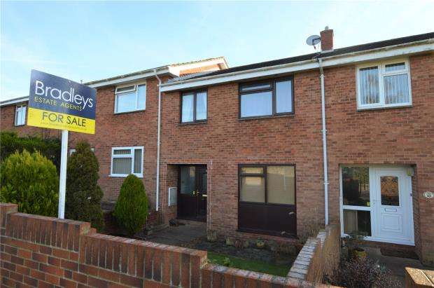 3 Bedrooms Terraced House for sale in Barn Park, Crediton, Devon