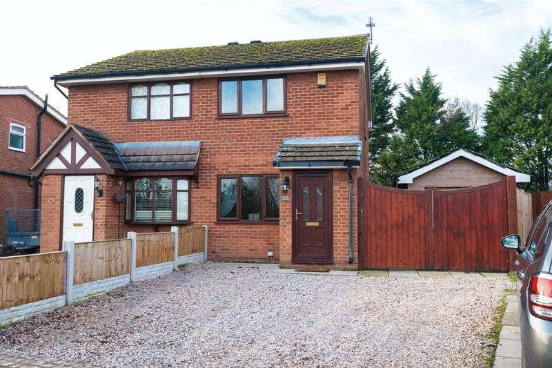 2 Bedrooms Semi Detached House for sale in Lonsdale Drive, Croston