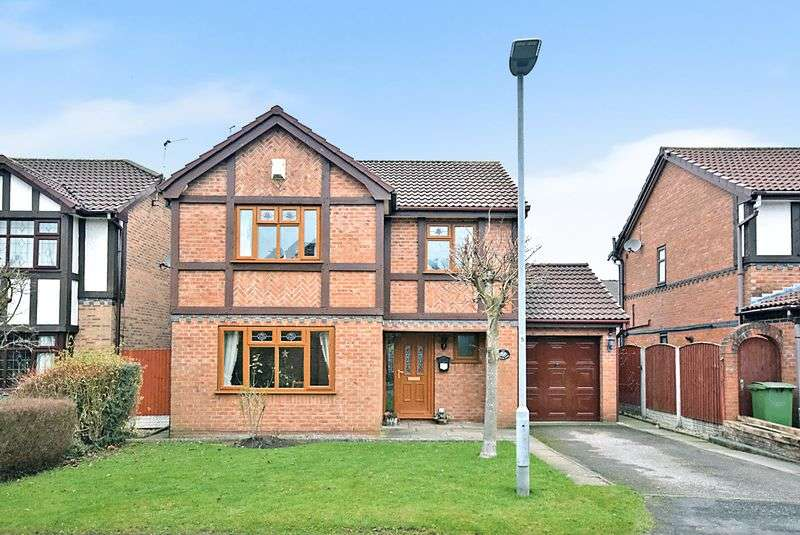 3 Bedrooms Detached House for sale in Lea Cross Grove, Widnes