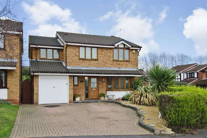 4 Bedrooms Detached House for sale in Gloucester Way, Heath Hayes, Cannock