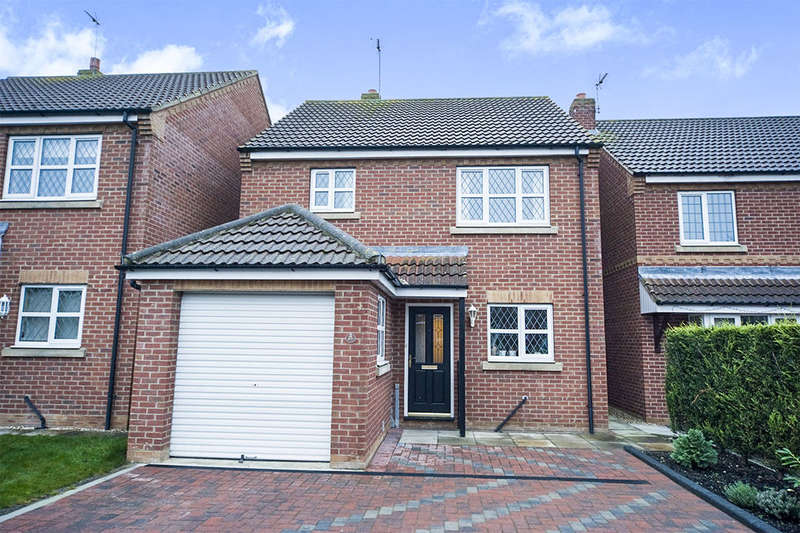 3 Bedrooms Detached House for sale in Applegarth, Gilberdyke, Brough, HU15