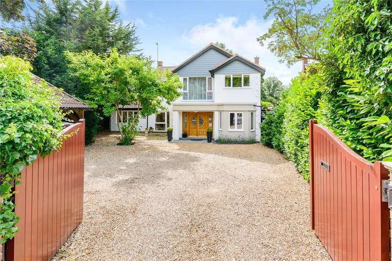 5 Bedrooms Detached House for sale in Lower Cookham Road, Maidenhead, Berkshire, SL6