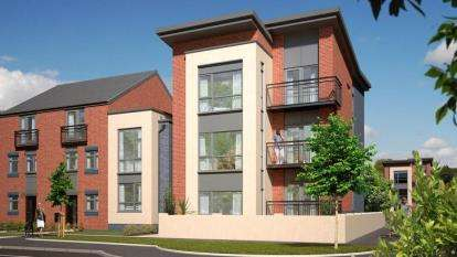 2 Bedrooms Flat for sale in Hanley, Stoke On Trent, Staffordshire