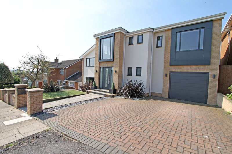 4 Bedrooms Detached House for sale in Saxton Drive, Moorgate, Rotherham