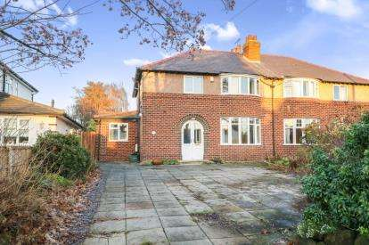 4 Bedrooms Semi Detached House for sale in Whitchurch Road, Great Boughton, Chester, Cheshire, CH3