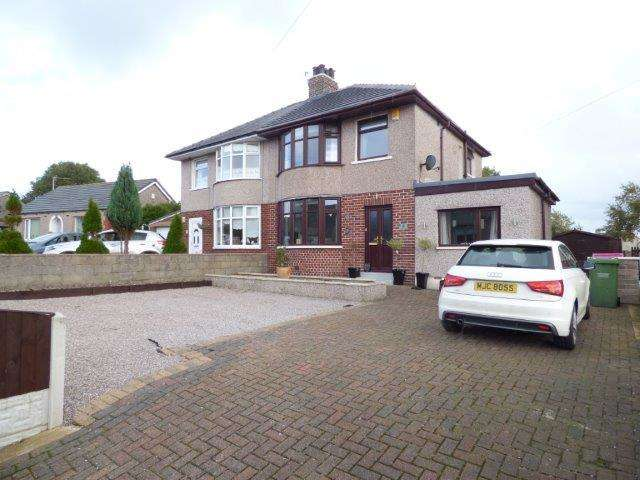 4 Bedrooms Semi Detached House for sale in Hallam Lane, Middleton, Morecambe, Lancashire, LA3 3LB