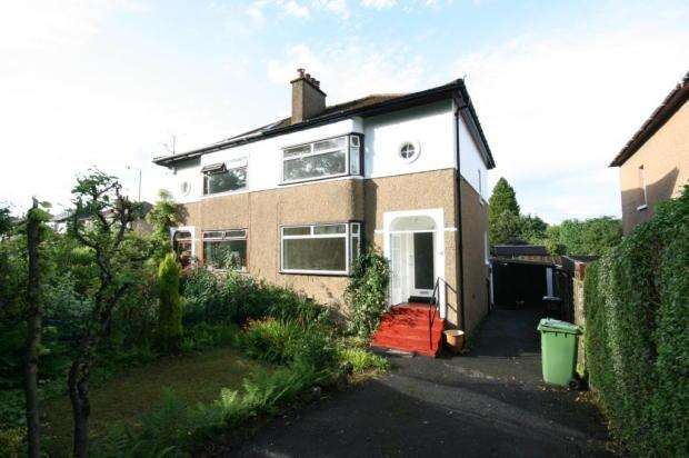 3 Bedrooms Semi Detached House for rent in Craigton Road, Milngavie, Glasgow, G62 7JJ