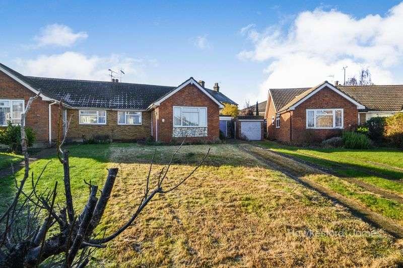 2 Bedrooms Semi Detached Bungalow for sale in Warwick Crescent, Sittingbourne