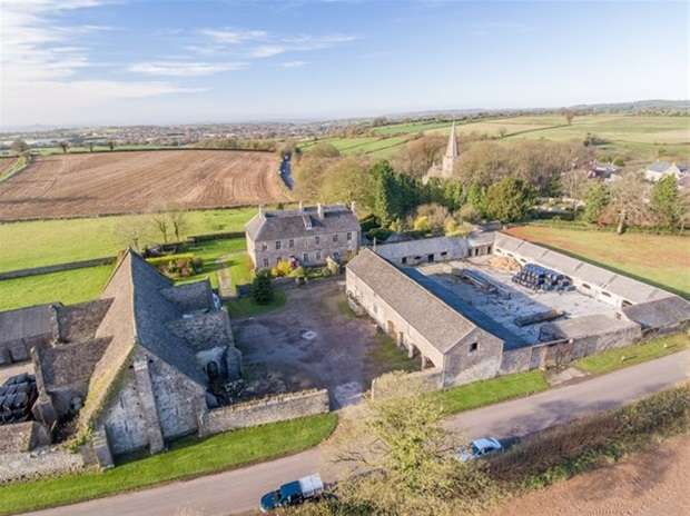 5 Bedrooms Detached House for sale in Doulting, Shepton Mallet