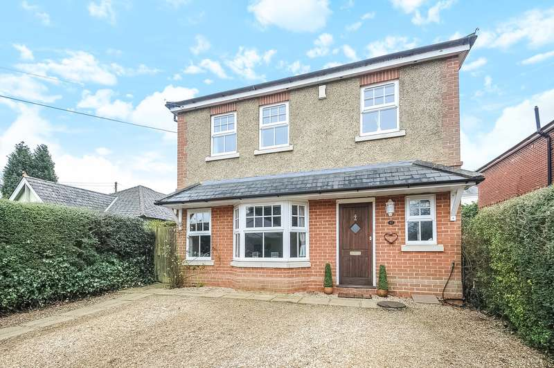 4 Bedrooms Detached House for sale in Spring Lane, Colden Common, Winchester, SO21