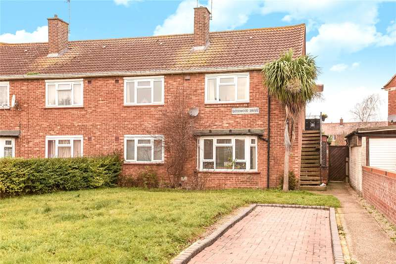 2 Bedrooms Maisonette Flat for sale in Goodwood Drive, Northolt, Middlesex, UB5