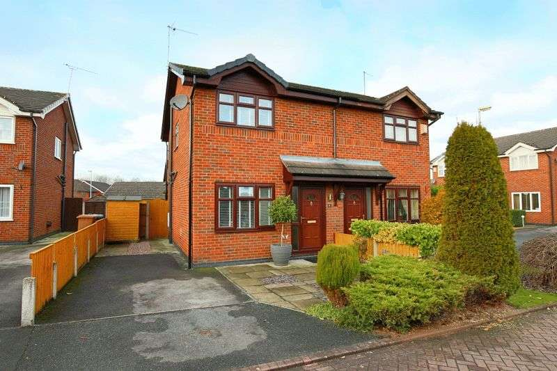 2 Bedrooms Semi Detached House for sale in Christchurch Avenue, Wistaston