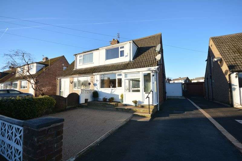 2 Bedrooms Semi Detached House for sale in Cranbrook Avenue, Oswaldtwistle
