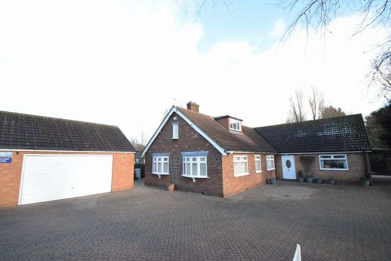 5 Bedrooms Detached Bungalow for sale in Jubilee Road, North Somercotes