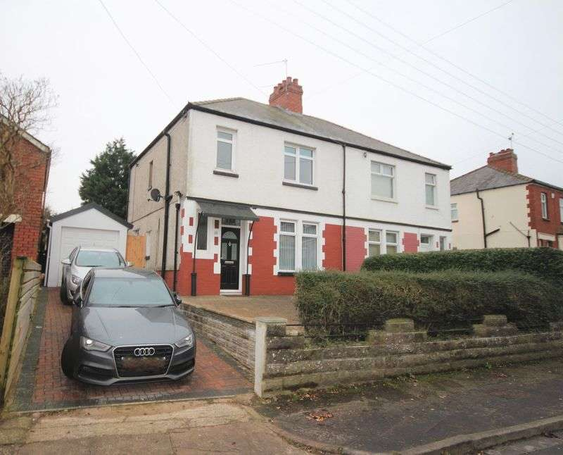 3 Bedrooms Semi Detached House for sale in Wentloog Road, Rumney, Cardiff