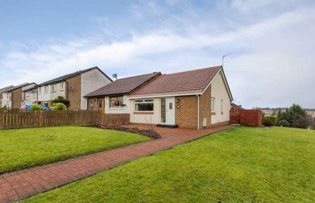 2 Bedrooms Semi Detached Bungalow for sale in Millersneuk Crescent, Millerston, Glasgow, G33 6PS