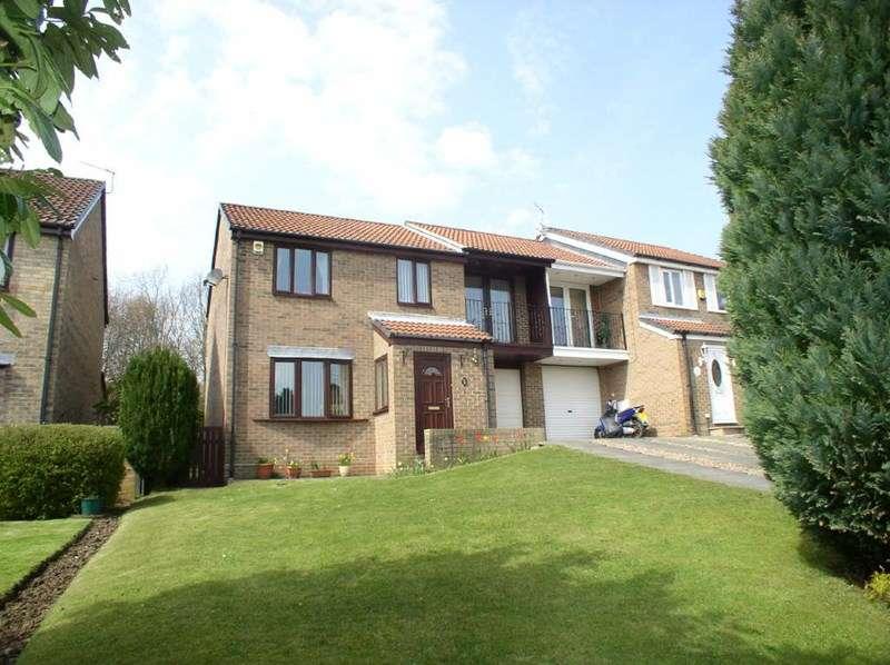 4 Bedrooms Semi Detached House for sale in Lambton Court, Peterlee