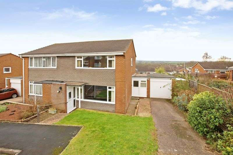3 Bedrooms Semi Detached House for sale in Sampford Peverell