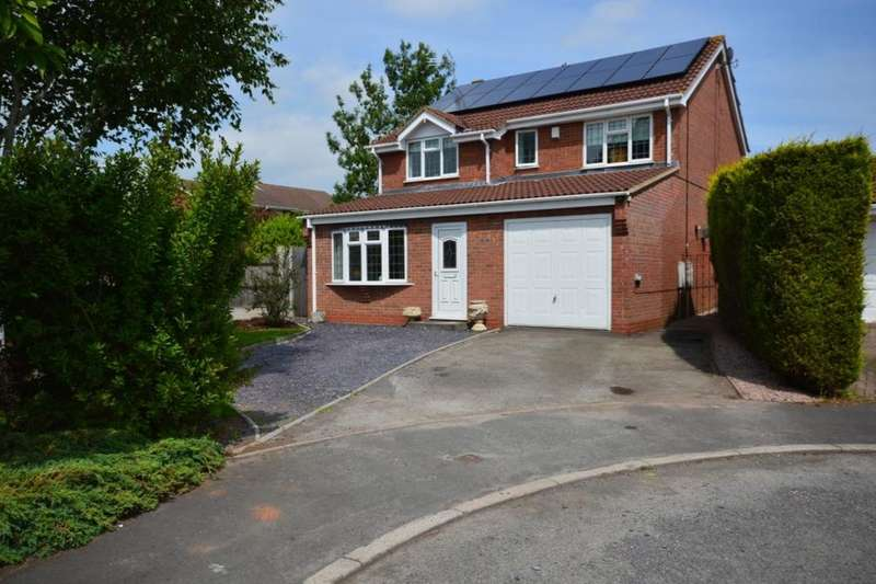 5 Bedrooms Detached House for sale in Penzance Way, Nuneaton, CV11