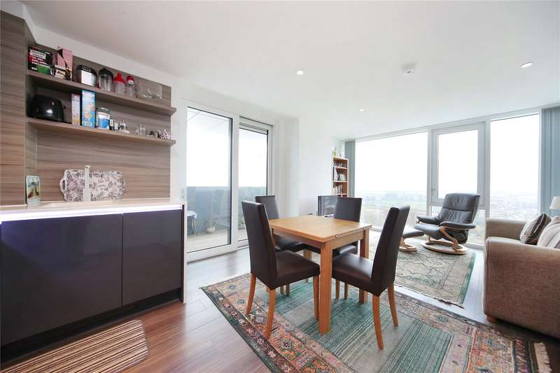 2 Bedrooms Flat for sale in Beacon Tower, 1 Spectrum Way, Wandsworth, London, SW18