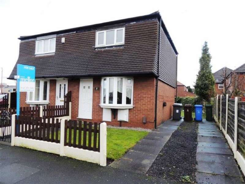 2 Bedrooms Property for sale in Sidebottom Street, Droylsden, Manchester