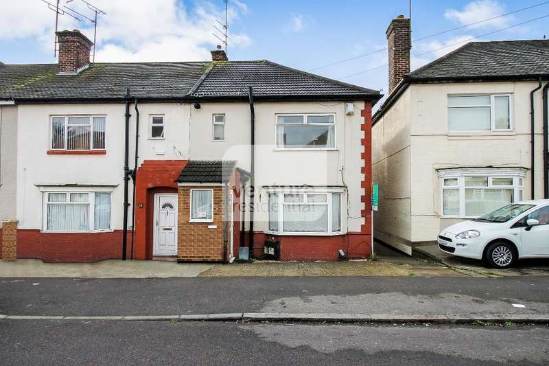 3 Bedrooms End Of Terrace House for sale in Kent Road, Luton, LU1 1TJ