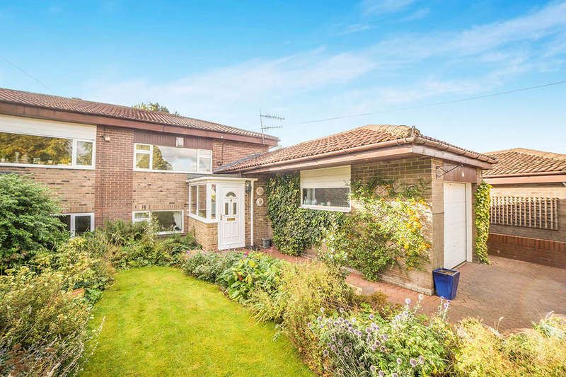 3 Bedrooms Semi Detached House for sale in Wellfield Court, Crawcrook, Ryton, NE40