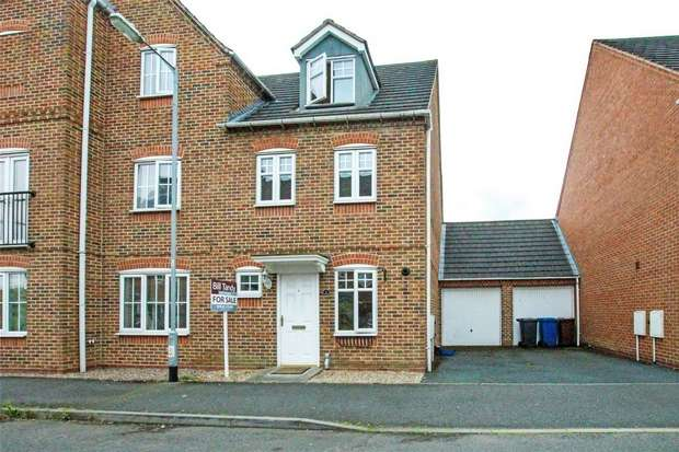 3 Bedrooms End Of Terrace House for sale in Witley Drive, Lichfield, Staffordshire