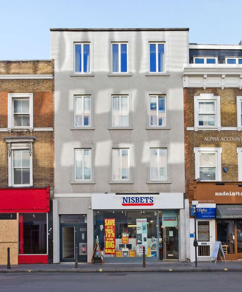 2 Bedrooms Flat for sale in Flat 7 Mulberry House, Fulham Road, Fulham, London, SW6 5UA