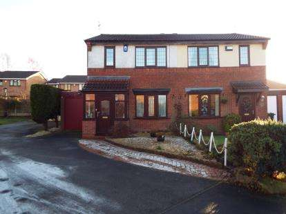 3 Bedrooms Semi Detached House for sale in Woodbridge Close, Bloxwich, Walsall, West Midlands