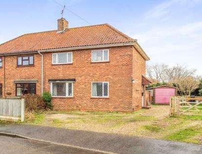 3 Bedrooms Semi Detached House for sale in Coltishall, Norwich, Norfolk