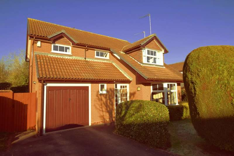 4 Bedrooms Detached House for sale in Childs Oak Close, Balsall Common