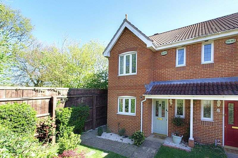 3 Bedrooms Semi Detached House for sale in Nicolson Close, Tangmere, PO20