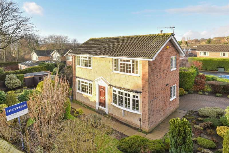 3 Bedrooms Detached House for sale in Cricketers Green, Yeadon, Leeds, LS19 7YS