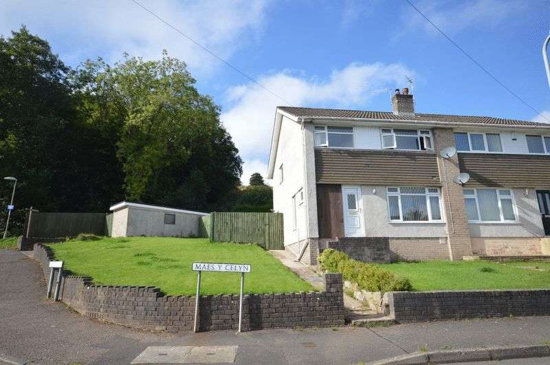 3 Bedrooms Semi Detached House for sale in Maes Y Celyn, Pontypool