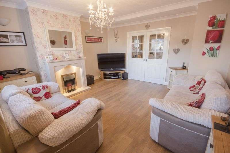 2 Bedrooms Terraced House for sale in East Row, Eston, Middlesbrough, TS6 9JN