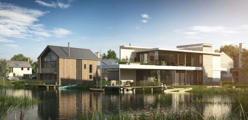 4 Bedrooms Detached House for sale in Architect Designed Family Home at Silverlake, Dorset