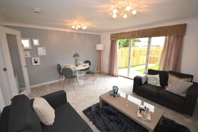 3 Bedrooms Semi Detached House for sale in Antonine Court, Larbert, FK5