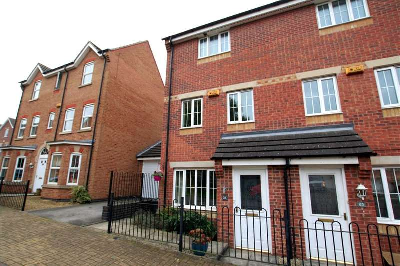 3 Bedrooms End Of Terrace House for sale in Cirrus Drive, Watnall, Nottingham, Nottinghamshire, NG16