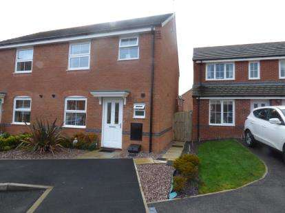 3 Bedrooms Semi Detached House for sale in Lamberton Drive, Brymbo, Wrexham, Wrecsam, LL11