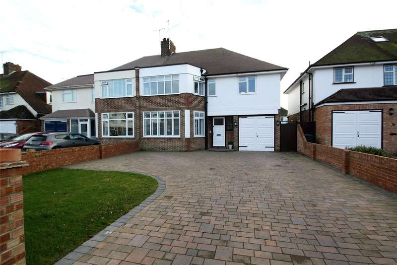 4 Bedrooms Semi Detached House for sale in Robson Road, Goring By Sea, Worthing, BN12