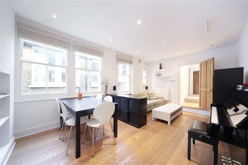 2 Bedrooms Flat for sale in Lynn Road, Clapham South, London, SW12