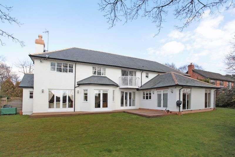 5 Bedrooms Detached House for sale in Theobald Road, Bowdon, Cheshire