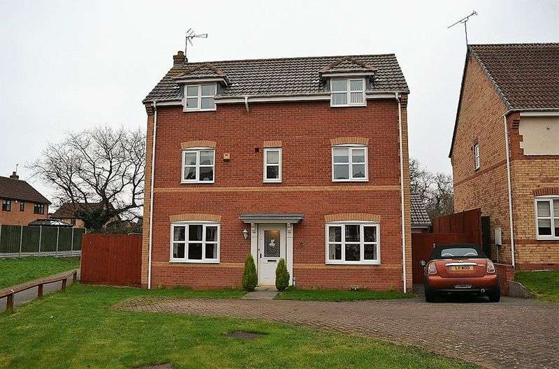 4 Bedrooms Property for sale in Bluebell Close, Oadby