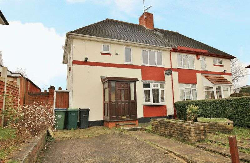 3 Bedrooms Semi Detached House for sale in Crankhall Lane, Wednesbury