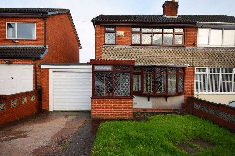 3 Bedrooms Semi Detached House for sale in Southborough Crescent, Bradeley