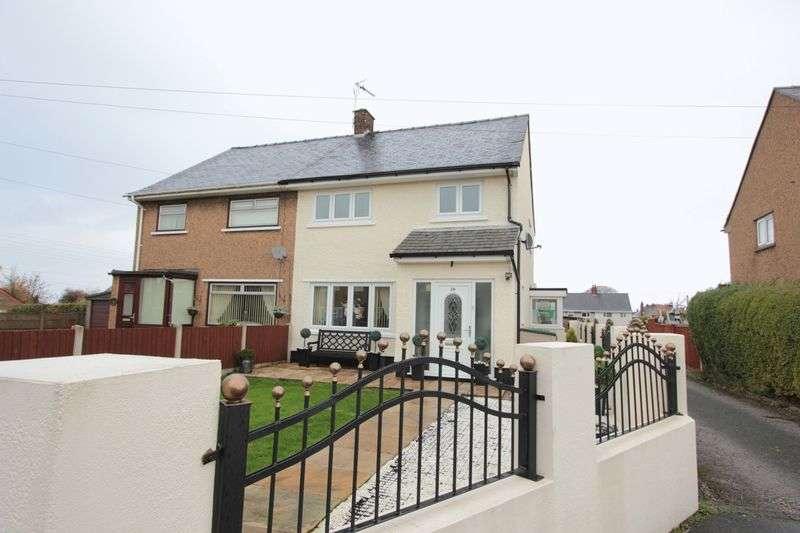 4 Bedrooms Semi Detached House for sale in Maes Emlyn, Pen y Ffordd