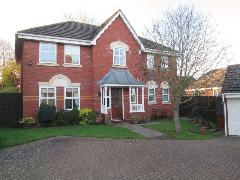 4 Bedrooms Detached House for sale in Heron Court, Daventry, NN11 0XT