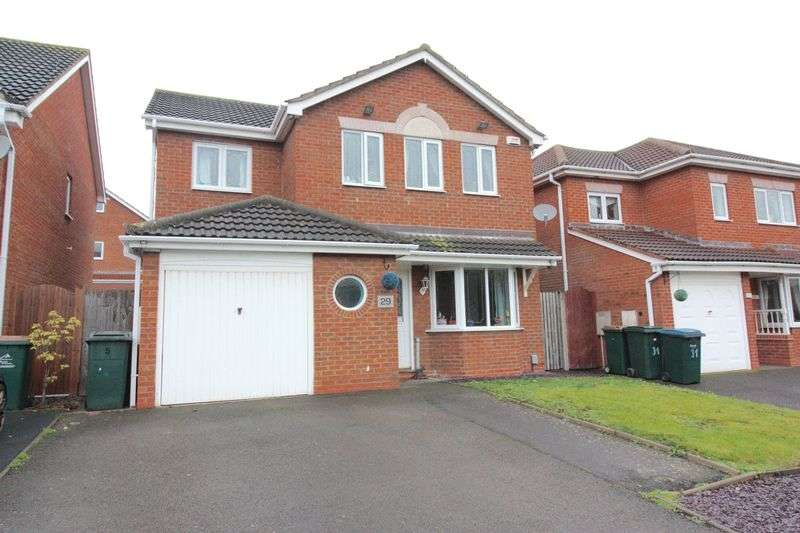 4 Bedrooms Detached House for sale in Rudgard Road, Longford, Coventry